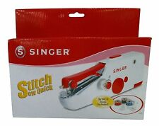 Singer Portable Hand Sewing Machine Travel Quick Clothes Stitch Repair Mini Sew