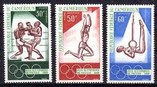 JO MEXICO Cameroun 3 val de 1968 ** NEUF PORT OFFERT - SAUT BOXE OLYMPICS