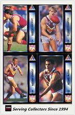 1994 Dynamic AFL Players Choice Trading Cards Base Team Set Brisbane (7)