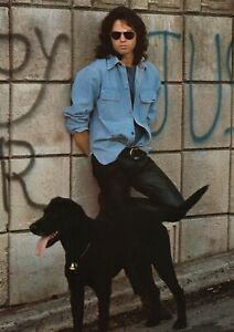 The Doors Band Jim Morrison With Black Dog Poster 24x33