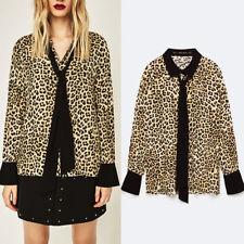 Zara Leopard Plus Size Tops & Shirts for Women