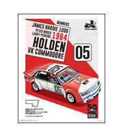 "HOLDEN COMMODORE VK POSTER - BROCK PERKINS 1984 BATHURST - 50 x 40 cm 20"" x 16"""