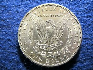 1897 S Morgan Silver Dollar - Scarcer - Lustrous Bright AU     Read