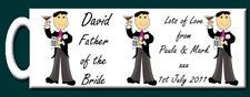 Personalised Father of the Bride Mug - Wedding Gift