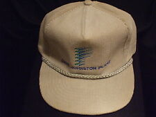 Dave Johnson Power Plant Gray corduroy  ball cap