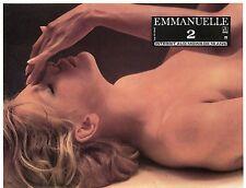 SEXY CATHERINE RIVET EMMANUELLE 2 1978 VINTAGE PHOTO LOBBY CARD N°1