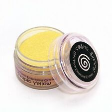 COSMIC SHIMMER ULTRA THICK embossing Crystals Powder TROPIC YELLOW 20ml