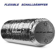 Flexible Rohrschalldämpfer 102,127,160 mm Flexrohr Schalldämpfer/Flexibel Rohr