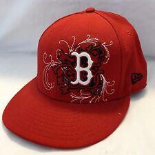 New BOSTON RED SOX New Era Hat sz 7 1/8 * 5950 ~ 59 FIFTY MLB