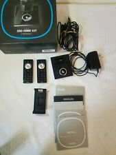 Sirius Satellite Radio S50 Home Kit Dock 2 Remotes AC Adapter Cables parts