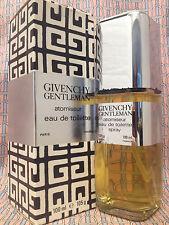 Vintage 1980s Givenchy Gentleman LARGE 3.4 oz 100 ml Eau de Toilette OLD FORMULA