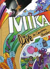 MIKA-Live In Cartoon Motion DVD incl booklett