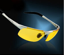 High-End Aluminum-Magnesium HD Night Vision Driving Glasses Polarized Sunglasses