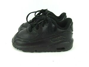 Nike Air Max 90 LTR BT Toddler Shoes Double Black 833416-001 Size 7C Sneakers