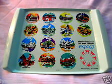 Vintage MONTREAL EXPO Exhibition 1967 Collectible Plate