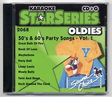 SOUND CHOICE KARAOKE SC-2068 50's & 60's PARTY SONGS VOL 1 CD+G, OUT OF PRINT!!!