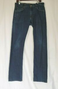 Citizens Of Humanity Sid Dark Wash Straight Jeans 32 X 33