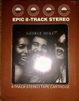 SEALED NEW UNOPENED GEORGE DUKE REACH FOR IT 8-TRACK TAPE LOOK!!