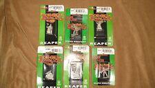6 Reaper Miniatures, Toshiro, Falkirk, Kain, Kurff, Fitch & Tolzar - NRFC