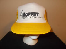 Vtg-1980s Moffet Nursery Silence of the Lambs riddle Hannibal Lecter hat sku7