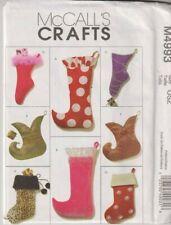 4993 McCALLS Crafts - Christmas STOCKINGS