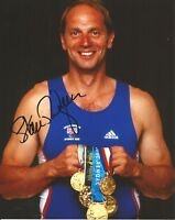 Hand Signed 8x10 photo SIR STEVE REDGRAVE OLYMPIC CHAMPION Gold Medal + my COA