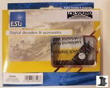 ESU 66498 New 2018 LokSound V4.0 M4 PluX16 NEM658 With Speaker ~ Factory Sound