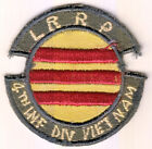 WARTIME US ARMY LRRP 4TH ID PATCH (1431)