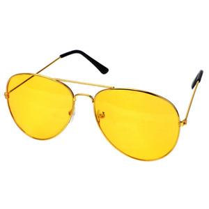 Anti-glare Driving Sunglasses Car Driver Night Vision Goggles Auto  Driving GOLD