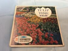 View-Master, 21 Stereo Pictures, Tulip Time In Holland Edited By Lowell Thomas
