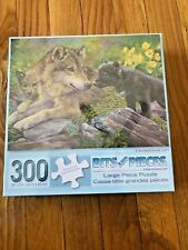 "New 300 Piece Lucie Bilodeau Art Puzzle ""Unconditional Love"" Large Format 18x24"