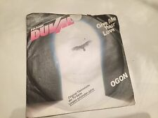 80er - Frank Duval - Give me your Love
