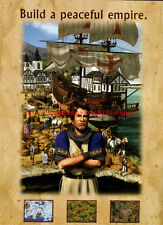 """Anno 1503 The New World """"EA Games"""" 2003 Magazine Double Sided Advert #5536"""