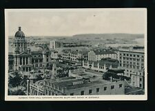 South Africa DURBAN Town Hall Bluff and Docks c1920/30s? PPC