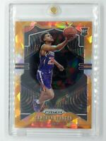2019-20 Panini Prizm Orange Ice Cameron Johnson Rookie RC #257, Phoenix Suns