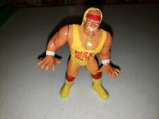 "Hulk Hogan Series 1 Figure ""Hulk Rules"" Titan WWE Hasbro 1990 WWF 5"""