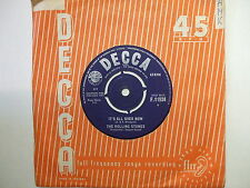 F.11934 The Rolling Stones - It's All Over Now / Good Times Bad Times - 1964