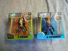 Metal DC Catwoman Figure (M391)/Katana Suicide Squad (M432) Woman Power 14+