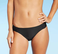 Juniors' Tab Hipster Bikini Bottom - Xhilaration - Black - Various Sizes - S276