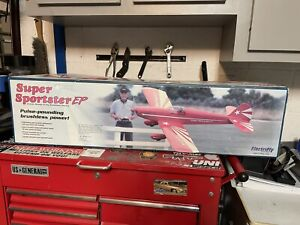 Great Planes Super Sportster EP Brushless ARF GPMA1161 Electrify  -  NEW - RARE