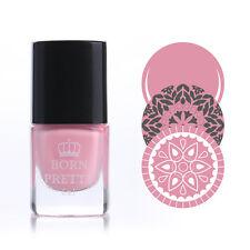 6ml Born Pretty Stamping Polish Nail Art Pink Varnish Stamp Printing Polish #16