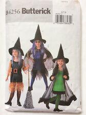 "Butterick B4256 Girls Halloween Witch Fancy Dress Costume Pattern Bust 25-26-27"""