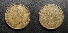 Afrique occidentale Française - 25 francs 1956 - KM#7