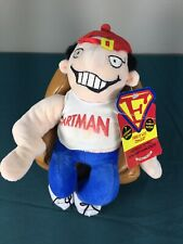 VTG Talking Fartman Funny Comic Novelty Inc Plush Toy Humor Rare Funny Joke