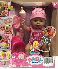 11667843 Zapf Creation Babypuppe BABY born Soft Touch Girl  NEU