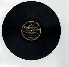 78T Lucienne BOYER Vinyle Phono VIENS DANS MES BRAS Chanté COLUMBIA DF 877 RARE