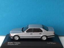 Minichamps 1:43 BMW 7-Series 1986 Silver Modell Nr. 431 024302