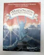 The Muse Concerts A Non-Nuclear Future Concert Program Sept 19-23, 1979
