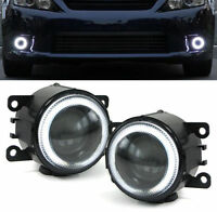 PROJECTOR FOG LIGHTS WITH CCFL RINGS FOR VAUXHALL ZAFIRA B OPC & VECTRA C OPC