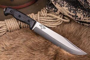 Kizlyar Supreme Bastardo knife Sleipner G10 handle SMALL CUT ON STRAP, SEE PHOTO